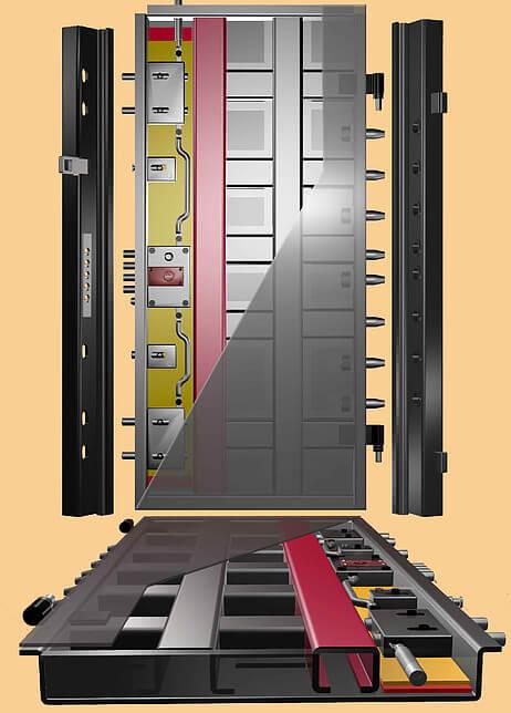 θωρακισμένη πόρτα 22